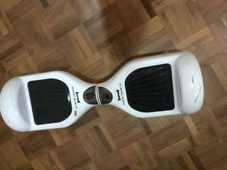 White hover board - used