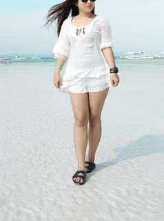 Korean Mini Bohemian Beach Dress