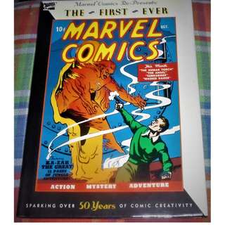 The First Ever Marvel Comics Hardbound