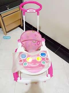 Baby walker Baru pakai 2 bulan full musik