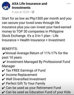 INVESTMENT AND INSURANCE