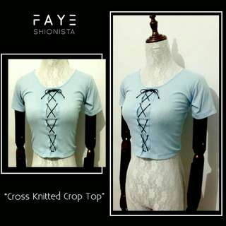 Cross Knitted top