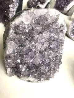 Grey Amethyst Crystal Quartz