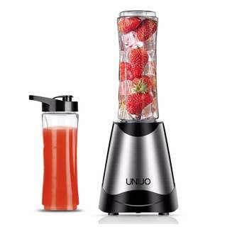$158 不銹鋼 榨汁機 果汁機 (可配 600ML隨身杯 X 2個) 10秒榨汁機 電動果汁機 攪拌機 豆漿機 不銹鋼機身 Juice Blender