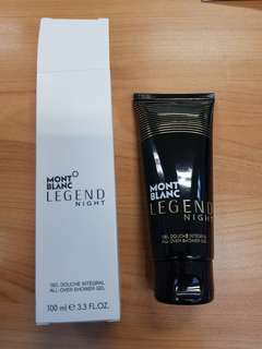 Mont Blanc Legend Night Shower gel 100ml