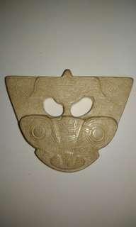 神人獸面紋飾片