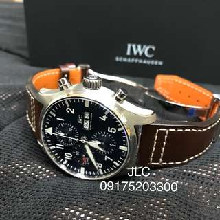 "Iwc Pilot's Watch Chronograph Edition ""Le Petit Prince"" complete with box warranty card"