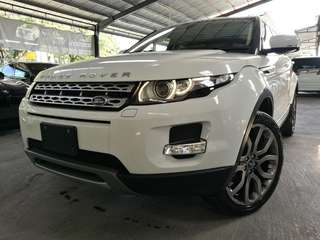 UNREGISTERED Range Rover Evoque 2.0 (A) year 2013.