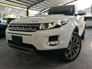 UNREGISTERED Range Rover Evoque 2.0 (A) year 2013.