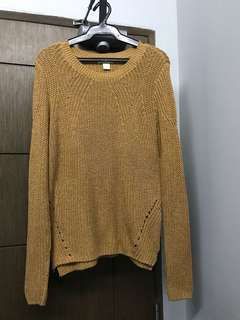 Slightly Used H & M Knitted Womens Blouse MARKDOWN