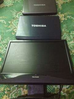 Parts Out - Toshiba Laptops - Viewsonic LED