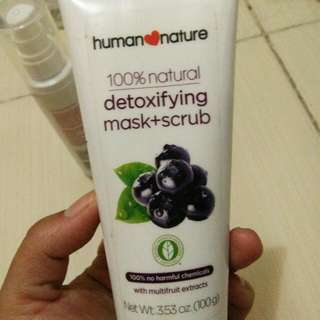 Human Nature Mask and Scrub
