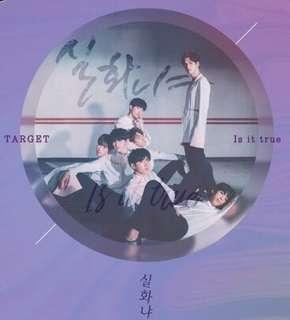 [Pre-order] TARGET 타겟 SINGLE ALBUM 싱글앨범 - IS IT TRUE 실화냐