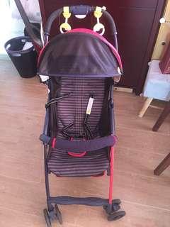 Aprica stroller, 3.3 kg BB 車