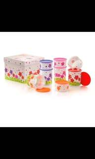 Tupperware One Touch petaz Canister Set (8)