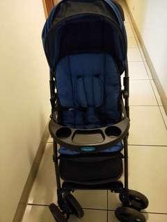 婴儿推车送雨罩加送小车车