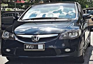 SAMBUNG BAYAR/CONTINUE LOAN  HONDA CIVIC FD 1.8 AUTO YEAR 2011 MONTHLY RM 1027 BALANCE 6 YEARS 9 MONTHS ROADTAX APRIL 2019 LEATHER SEAT  DP KLIK wasap.my/60133524312/fd1.8