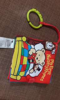 0+ Mothercare Cloth Book