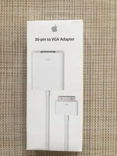 Authentic Apple 30-pin to VGA Adapter
