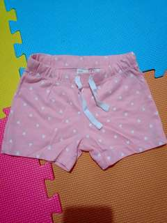 🔥SALE🔥 H&M shorts for baby girl