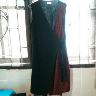 Dress and outer coat