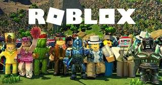Roblox Account (Free Mi Band 2)