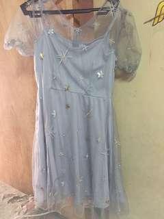 Silver dress