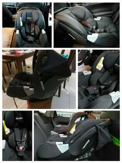 RECARO PRIVIA EVO INFANT CAR SEAT - PERFORMANCE BLACK