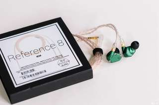 ALO AUDIO Campfire Andromeda IEM WITH Reference 8 upgrade cables!