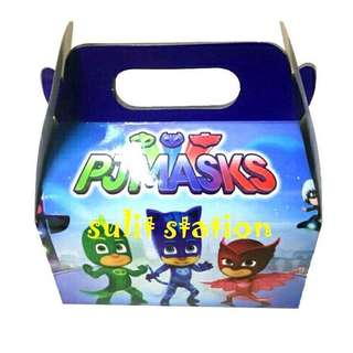 PJ MASKS PARTY DONUT LOOT BOX GIVEAWAYS SOUVENIR FAVOR