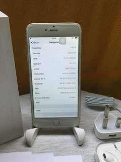 iphone 6 plus 64gb lengkap ex intern