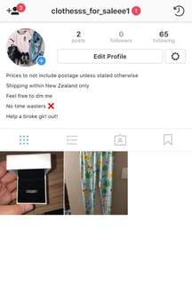 Go follow my Instagram!