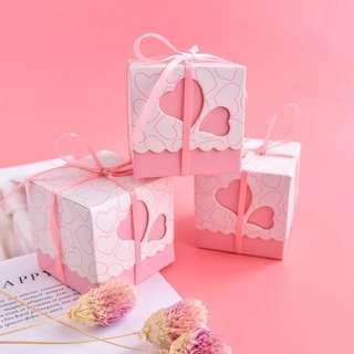Sweet Heart Cube Gift Box