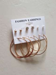 Hoop Earrings Set