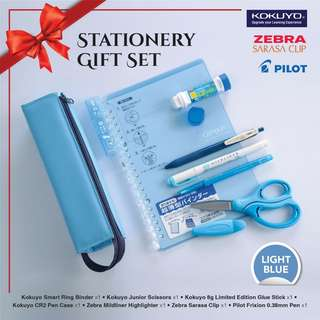 STATIONERY GIF SET Value Pack - LIGHT BLUE SERIES