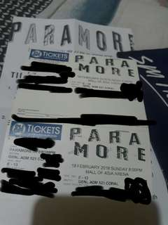 Swapppp !!!Paramore tour 5 2018