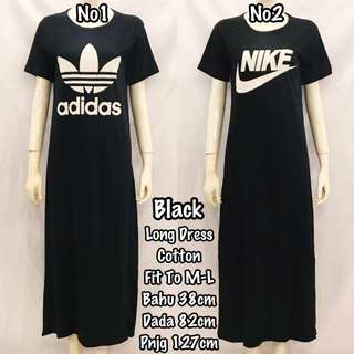 Long Skirt with Short Sleeve