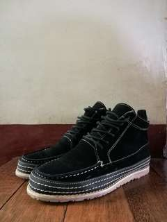 Suede High Cut shoes