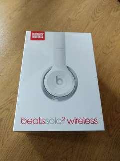 Beats Solo 2 Wireless Glass White