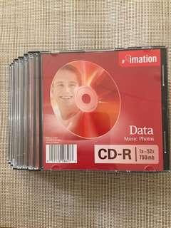 Take 10 pcs! Imation CD-R 1x-52x 700 mb