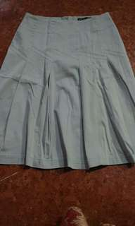 Light blue skirt with pleats, good as new
