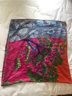 Hermes cashmere silk scarf 140 x 140