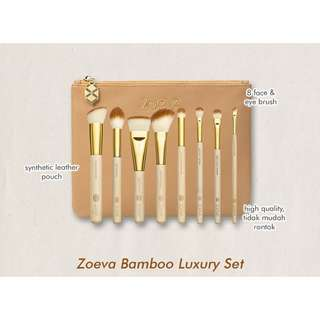 Brush bamboo luxury set 8