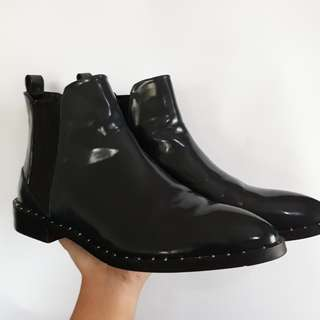 Zara Studded Ankle Boots (Size 10 Women's)
