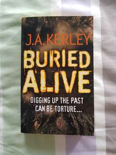 🚚 Buried Alive ~ J.A. Kerley Fiction Storybook