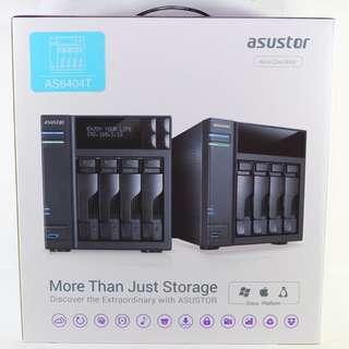 ASUSTOR 華芸 AS-6404T AS6404T 4Bay NAS 網路儲存伺服器
