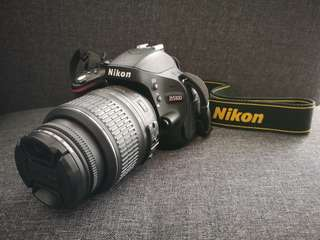 Nikon D5100 (with ori bag & charger)