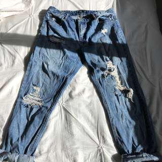 Glassons ripped size 12 jeans