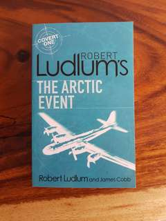 The Arctic Event ~ Robert Ludlum Fiction Storybook