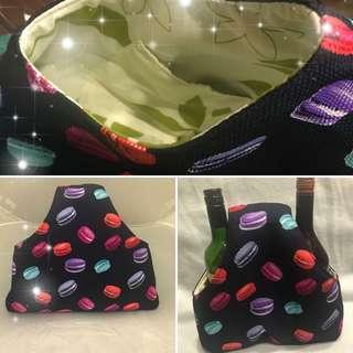 Macaron print  bag